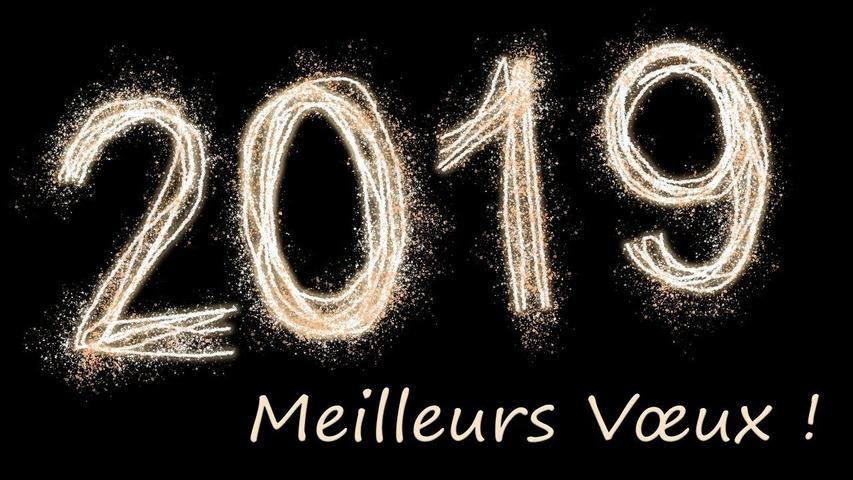 MEILLEURS VOEUX 2019