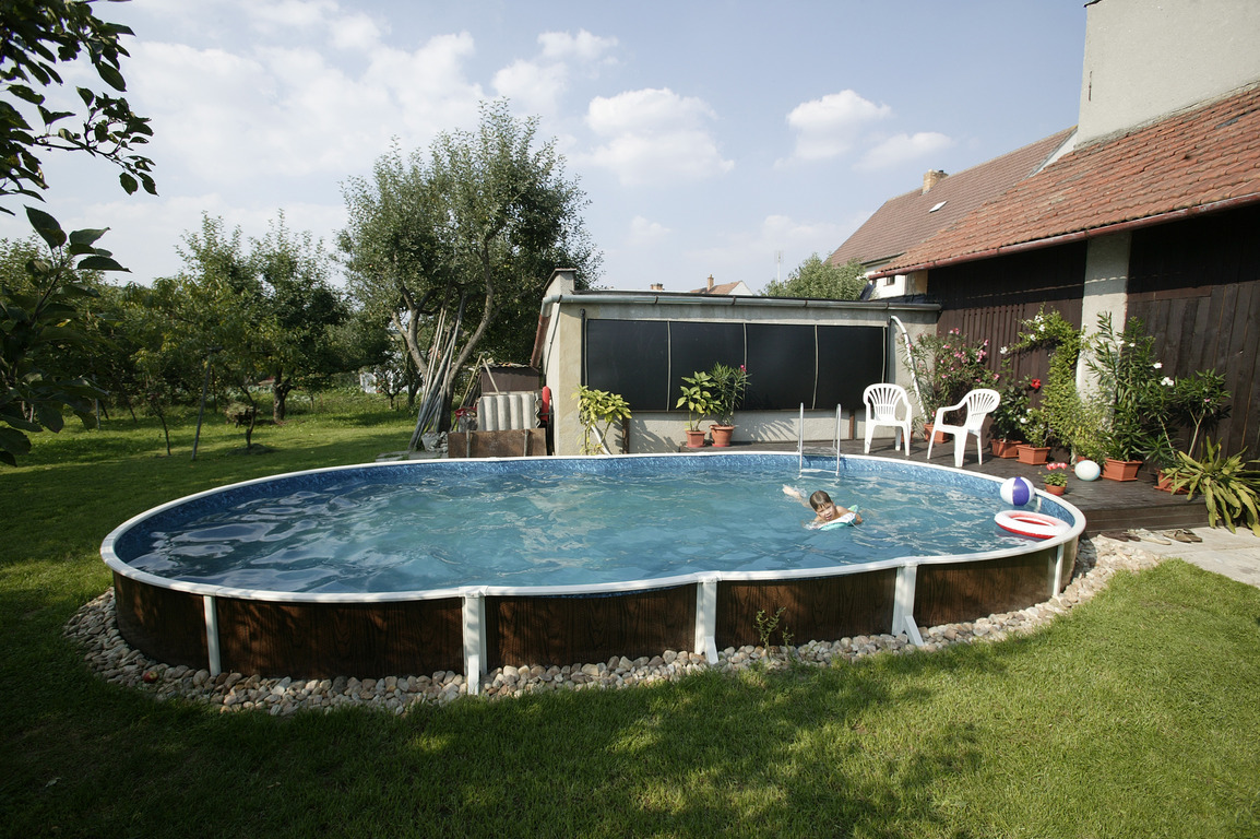Piscine hors sol 7x3 for Acheter piscine semi enterree