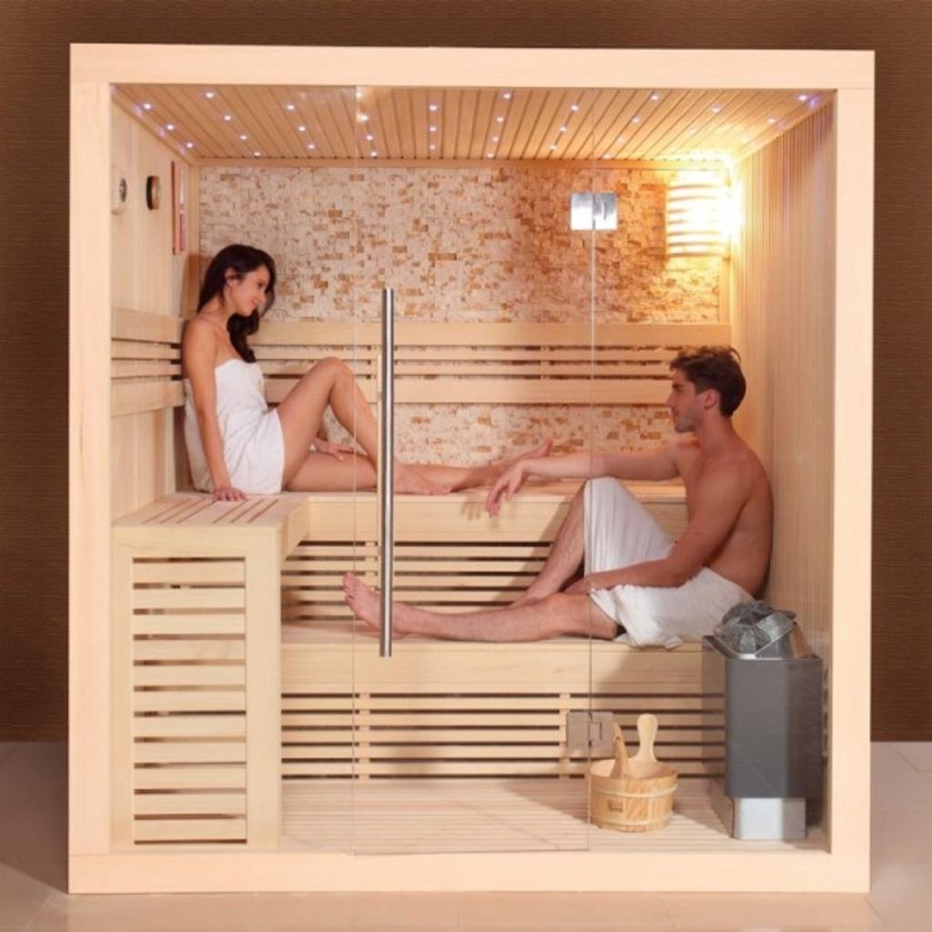 Cabine luxor aquastar piscines - Cabine sauna per casa ...